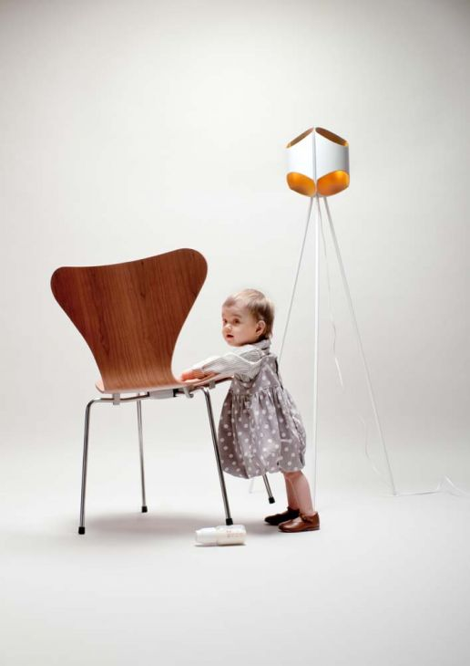 toddler chair and lamp