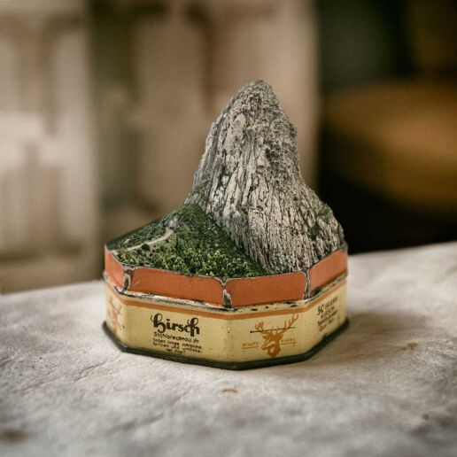 fabulous mountain boxed in small box